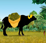 Kirikou et le buffle aux cornes d'or Kirikou and the Buffalo with
